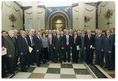 В.В.Путин провел встречу с депутатами фракции КПРФ в Государственной Думе