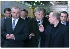 Глава Тверской области пригласил Путина посетить вагоностроительный завод
