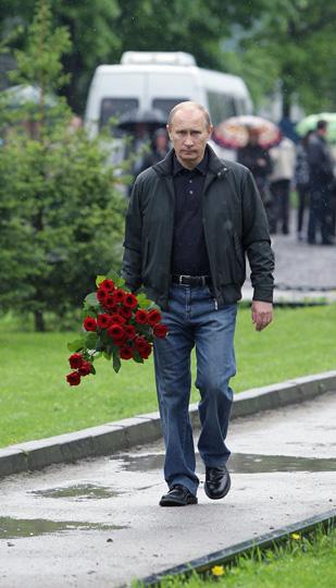 Владимир путин с цветами
